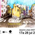Summer Course in Sketching: SummerSchool UrbanSketchers