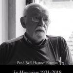 Falecimento do Professor Raúl Hestnes Ferreira