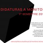 Candidaturas a Monitores Lectivos para o 1º Semestre 2018/19