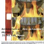 Architecture and Fire: on London's Skyline – Lecture by Professor Stamatis Zografos