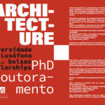 Bolsas de Doutoramento ULP+ULHT em Arquitectura 2021-22