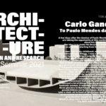 "PhD Seminar – CarloGandolfi– ""To Paulo Mendes da Rocha"""